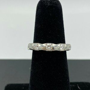 Platinum & .50 Ct Diamond 5 Stone Anniversary Ring